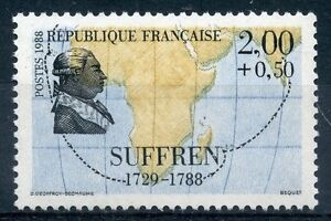 PerséVéRant Stamp / Timbre France Neuf N° 2518 ** Celebrite / Suffren Diversifié Dans L'Emballage