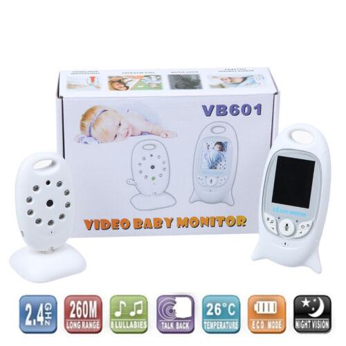 "2/"" Babyphone LCD Digital Video Monitor Kamera Nachtsicht 2.4GHz Funk Babyfon DE"
