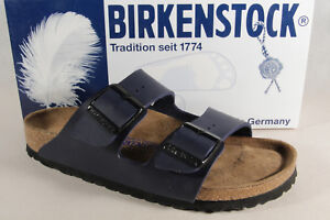 72c45ad50649 Image is loading BIRKENSTOCK-MULES-Mules-Slippers-Home-Slippers-Blue-051063-