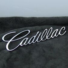 CHROME CAR METAL TRUNK BODY CADILLAC LETTER EMBLEM BADGE STICKER FOR CADILLAC