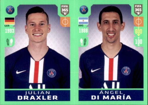 Panini Fifa 365 2020 Sticker 149 Angel Di Maria Julian Draxler