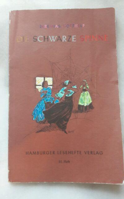 Jeremias Gotthelf - Die schwarze Spinne / Hamburger Lesehefte Verlag