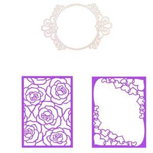 Rectangle-Circle-Frame-Cutting-Dies-Stencil-Scrapbook-Album-Embossing-Crafts-DIY
