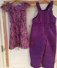 4T Purple Girl's Snowsuit
