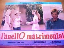 Fotobusta L'ANELLO MATRIMONIALE 1978 Carmen Villani (1)