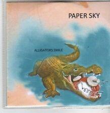 (BT519) Paper Sky, Alligators Smile - DJ CD