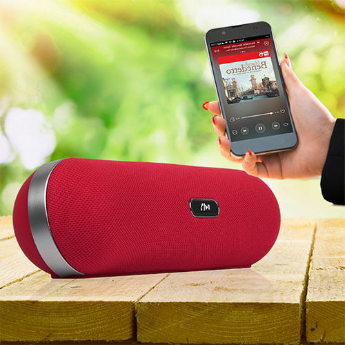 KOCASO® Portable Bluetooth Speaker Rechargeable Audio Wireless Hand-Free Call