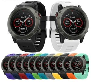 For-Garmin-Fenix-3-3-HR-5X-Silicone-Fitness-Replacement-Wrist-Band-Strap