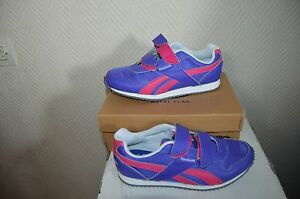 scarpe Shoes Taille Neuf 34 Chaussure Cuir Basket zapatos Reebok Running xqR76T7