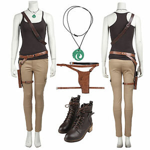 lara croft rise of the tomb raider us seller adult costume. Black Bedroom Furniture Sets. Home Design Ideas