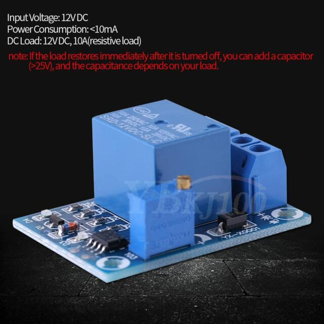 DC 12v battery low voltage automatic cut off switch controller modu KY