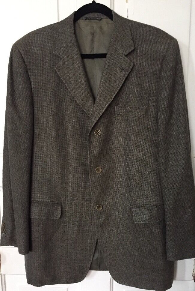CANALI Proposta Silk Wool Sport Coat Blazer -Men's Euro 52R (US 42 Reg)