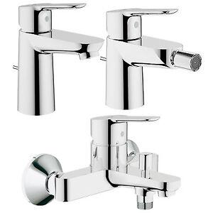 Grohe StartEdge set rubinetteria completa miscelatori bagno ottone ...
