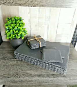 16 Piece Slate Placemat and Coaster Set
