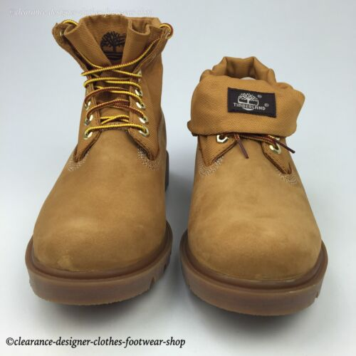Nubuck Rrp Top para Roll Shoes Cuero hombre Botas Basic £ 140 Timberland Premium Wheat xqHwnp4F