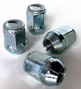 M12x1.5 19mm Hex wheel bolts nuts lugs M12 x 1.5 taper seat x 4
