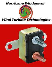 12 volt 50 Amp DC Auto Reset Wind Turbine Generator Circuit Breaker Type 1