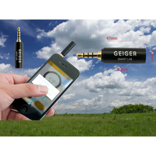 New Smart Geiger Nuclear Radiation Detector Counter For iOS iPhone Android Phone