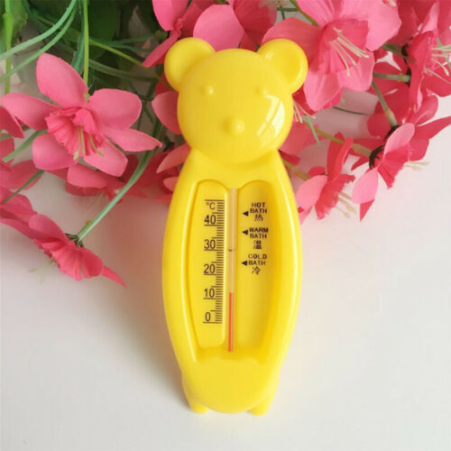 First Steps Baby Bath Thermometer Bear Floating Safe Water Temperature 3 Colours