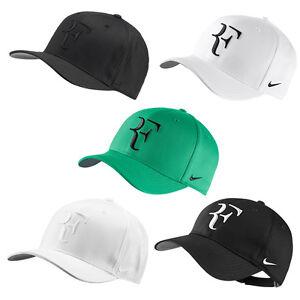 dc4b8f2412181 La foto se está cargando Nike-Tennis-Men-Roger-Federer-Sombrero-Gorra -aerobill-