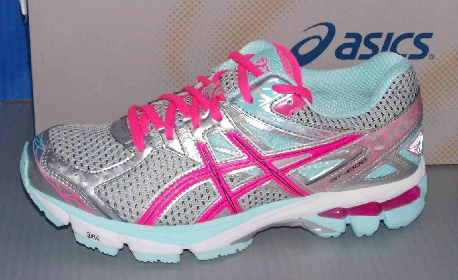 Damenschuhe ASICS GT - 1000 3 in PINK colors LIGHTNING / HOT PINK in / MINT SIZE 6.5 06ebf0