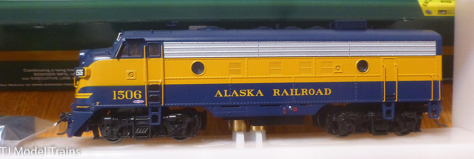 Bowser 24046 (RD 6) Alaska F-7A (línea ejecutiva) locomotora DCC con Sonido Lok