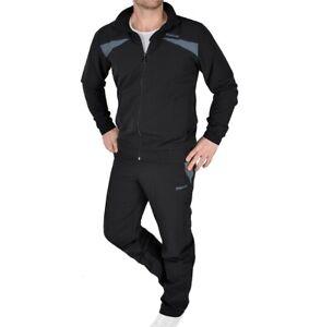 Details about Reebok Mens Tracksuit Jogging Suit Fitness Tracksuit Jacket + Pants Black show original title