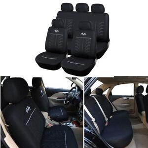 Sports-Black-Car-Seat-Cover-Interior-Accessories-Decoration-Car-Seat-Protector