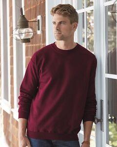 d12af058850 Image is loading Hanes-Ultimate-Cotton-Crewneck-Sweatshirt-F260
