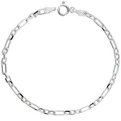 Beveled Edges Sterling Silver 3.7mm Baht Chain Necklace or Bracelet Bullet