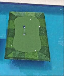 Floating-Golf-Green-8-039-x12-039-for-Pools-Ponds-Lakes-Putting-Chipping-Practice