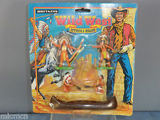 "VINTAGE BRITAINS MODEL No.7505 "" WILD WEST"" COWBOYS & INDIANS   VN MOC"