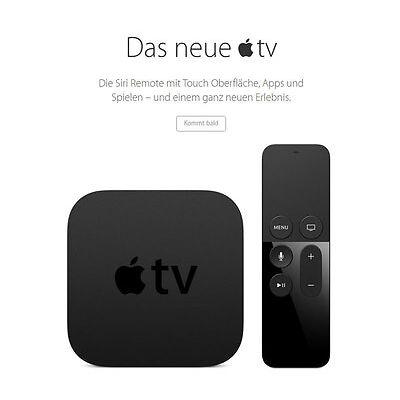 APPLE TV 4 & 32 GB inkl. JAILBREAK v. 17.0 & FILME & SPORT & IPTV + tvOS 10