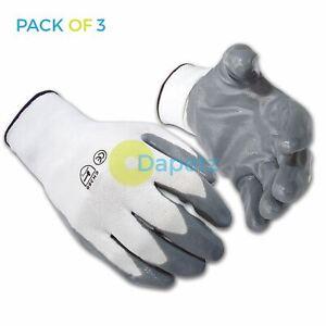 3-x-nylon-nitrile-Manteau-Gants-Palm-Heavy-Duty-travail-metal-manipulation-XL
