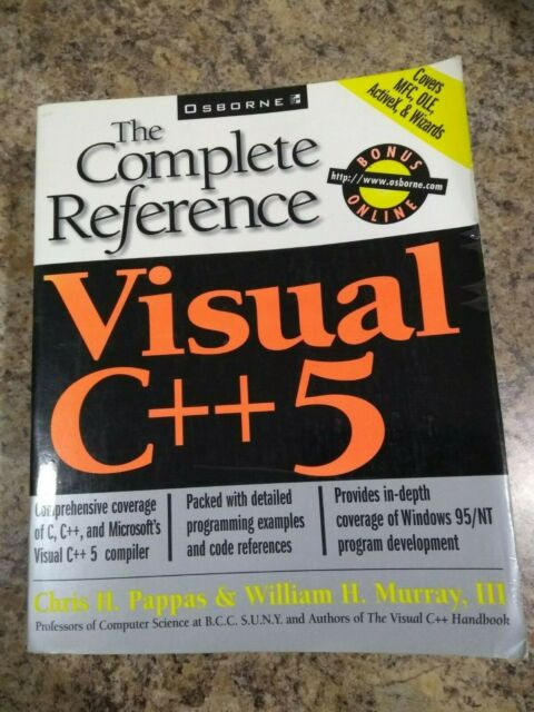 Visual C++5 : The Complete Reference by Chris H. Pappas and William H., III...