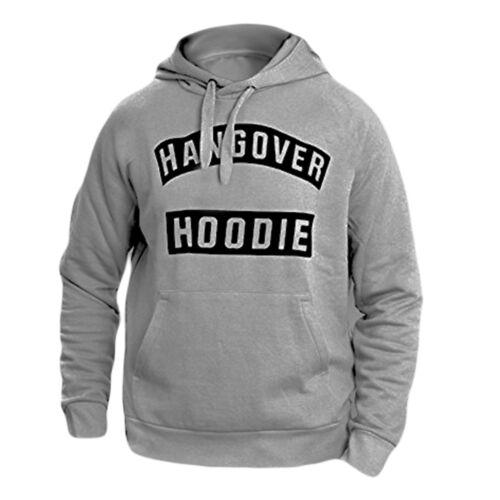 BOYS NEW HANGOVER Hoodie Hooded Sweatshirt Slogan Printed Top Long Sleeve S-XXL