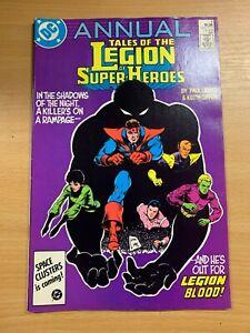 Dc-Comics-Legion-Of-Super-Heroes-Annual-4-1986-Vfn-Bd