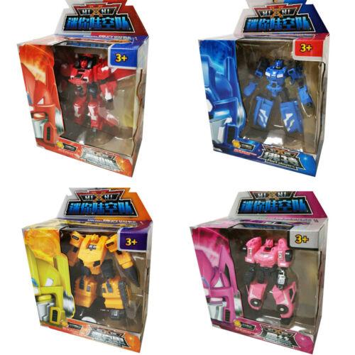 MINIFORCE Bolt Max Semi Lucy Figurine Mini Force Cadeau Jouet transformer