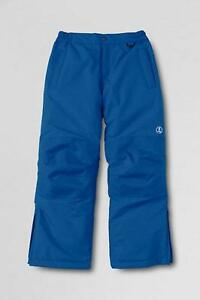 324bc06a1818 LANDS  END Toddler Boy s 2T Prussian Blue Squall Snow Pants NWT
