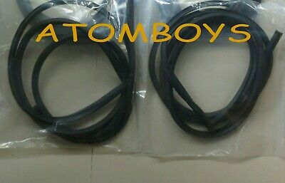 For Nissan Datsun Cherry 100a Front Door Weatherstrip Seal Rubber Ebay