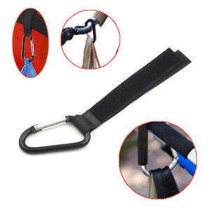 Baby Stroller Accessories Pram Hanger Strap Pushchair Bottle Bag Hooks Clip   KQ