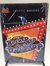 NEW MY MUSIC Rock Pop and Doo Wop DVD Classic Masters 2-disc Set with BONUS DVD