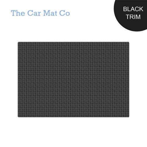Peugeot Partner Tepee 2008-Present Fully Tailored Black Rubber Boot Mat