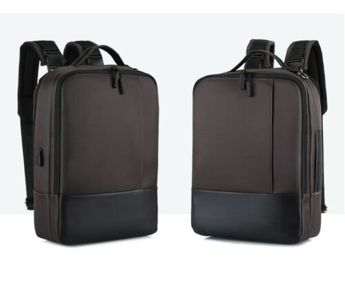 Premium Anti-theft Business Men Laptop Backpack with USB Port Multifunction