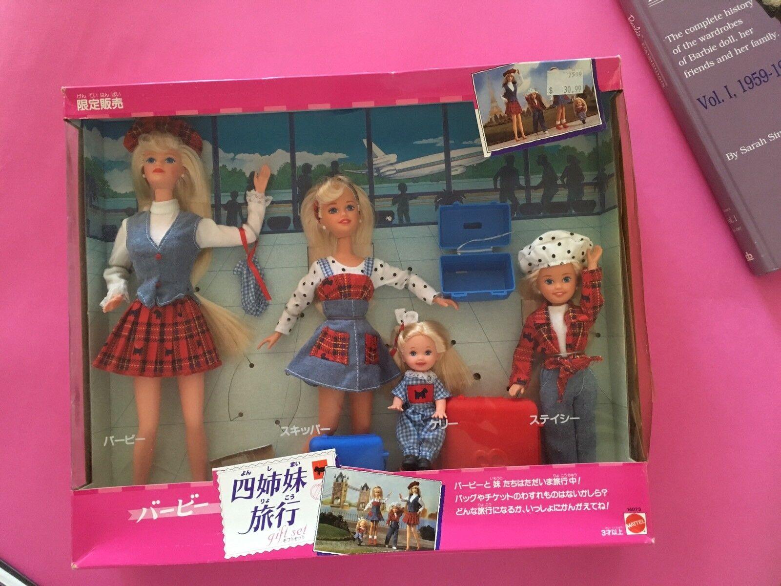 Barbie JAPANESE MARKET Travelin' Sisters  NRFB 1992