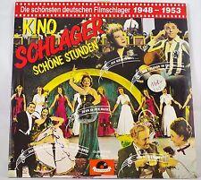 *-Vinyl-LangSPIELplatte - Kino SCHLAGER schöne STUNDEN - 1948-1953