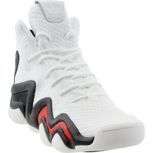 best sneakers a99ee 48649 Image is loading adidas-Crazy-8-Adv-Primeknit-Sneakers-White-Mens