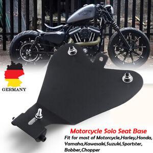 Motorrad-3-039-039-Solo-Sitz-Grundplatte-Halterung-Fuer-Harley-Sportster-Bobber-Chopper