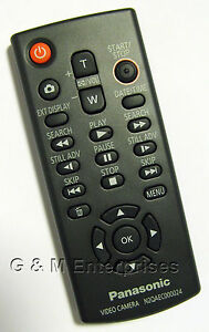 New-Panasonic-N2QAEC000024-Wireless-Remote-for-Many-2008-12-Camcorders-US-Seller