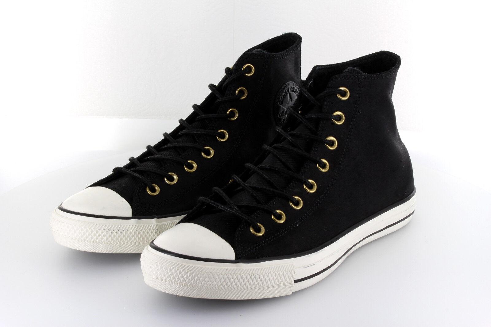 Converse Chuck Taylor AS Hi Black Leder Egret 42,5   43,5 US9